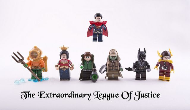 Lego Custom Aquaman Minifigs Mini figure Blocks Movie DC Justice League