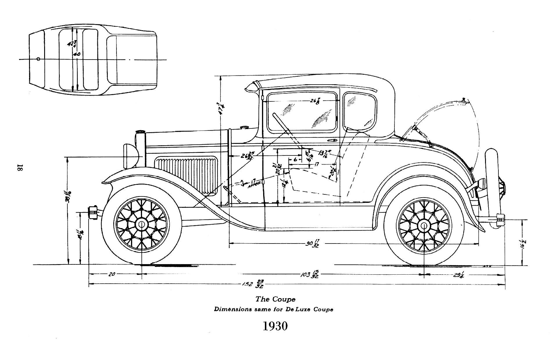 Wiring Manual PDF: 1930 Ford Coupe Wiring Diagram
