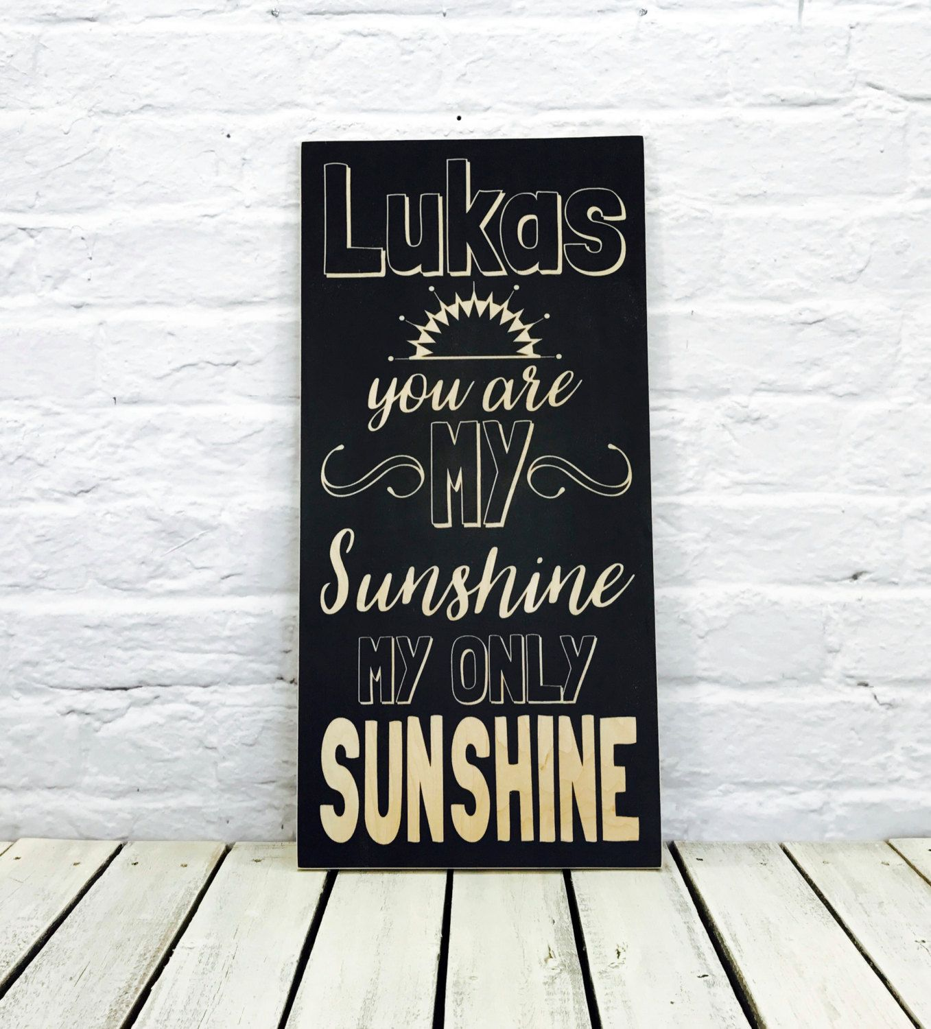 You Are My Sunshine Wall Decor you are my sunshine, you are my sunshine wall art, sunshine, wood