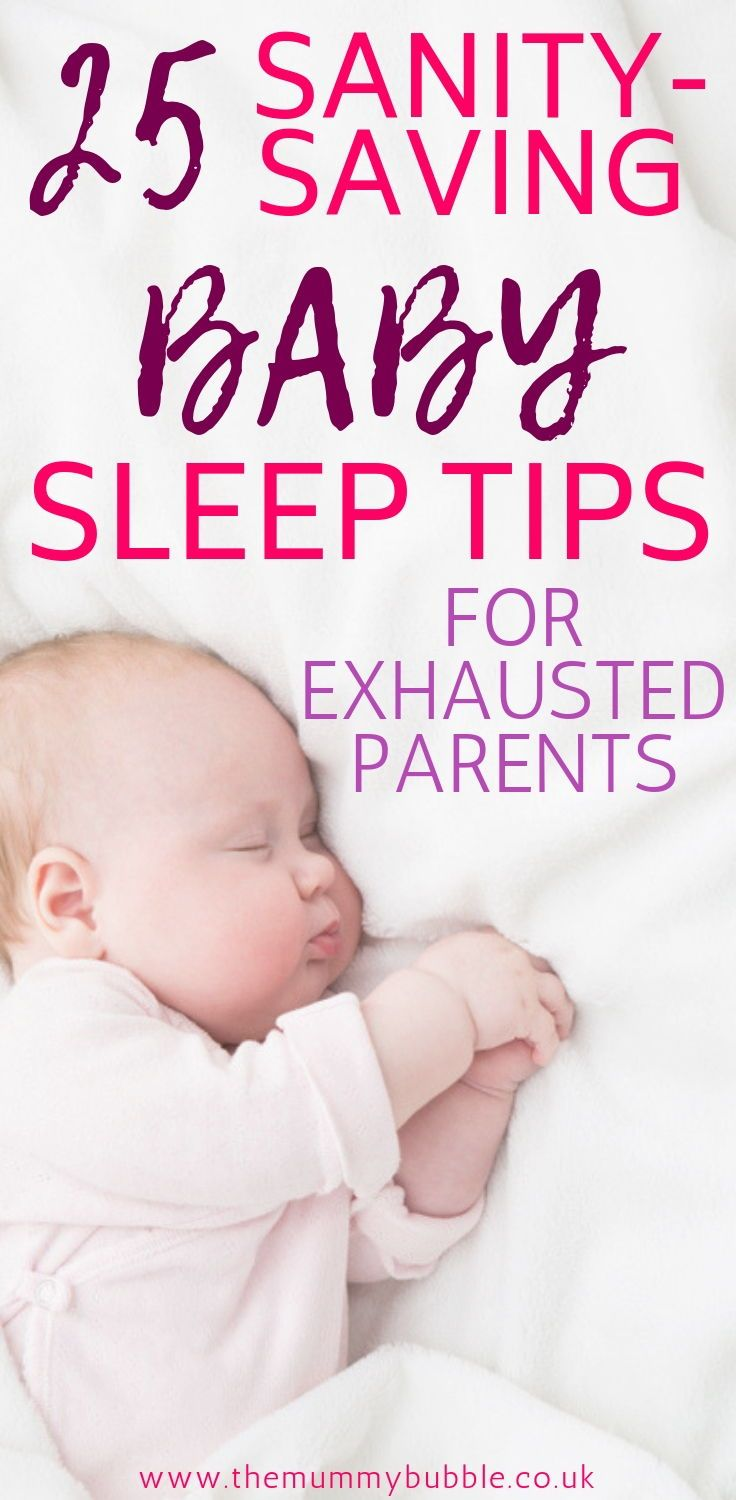 how to get your newborn to sleep without being held