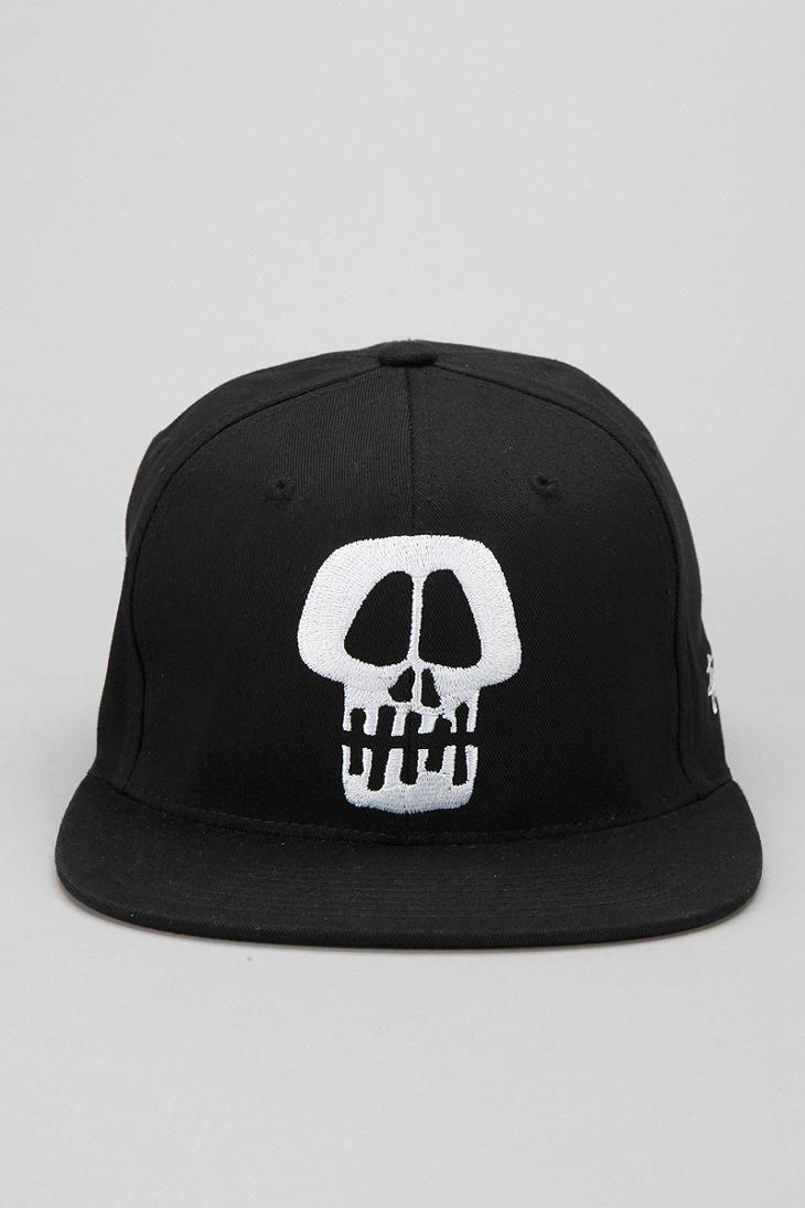 Stussy Skull Snapback Hat Uomens Hats For Men Hats