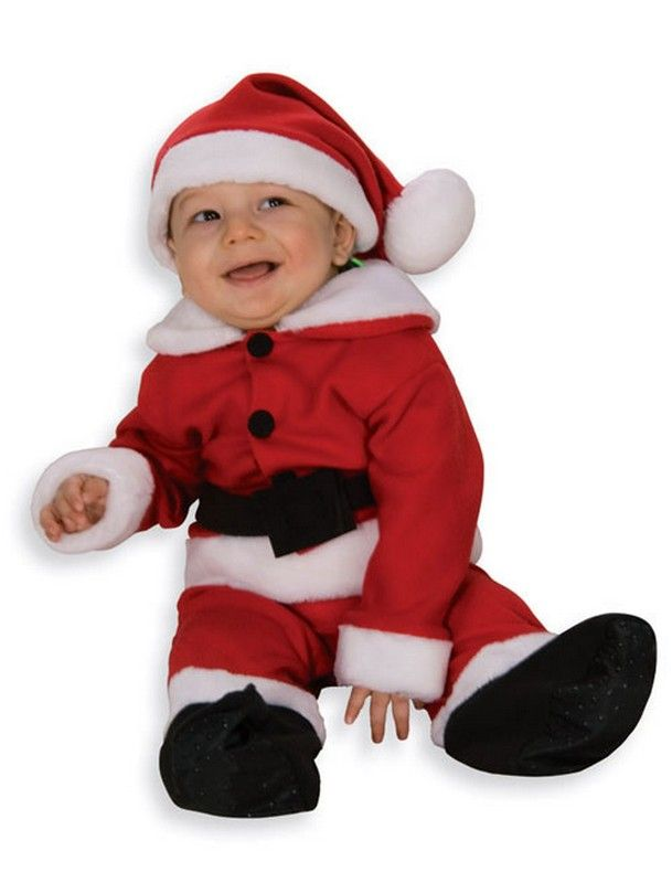 88e278b1a Deluxe Fleece Santa Suit for Infants and Toddlers $19.72 Christmas Costumes.  Baby Santa Costumes.