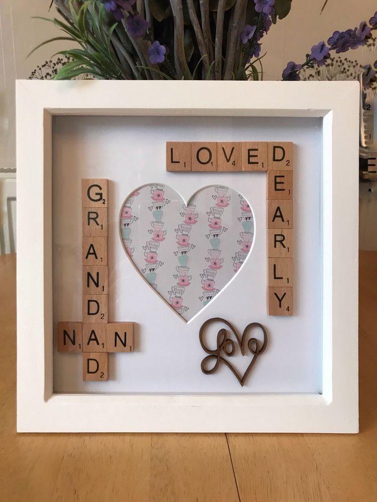 Grandparents gift nan nana or grandma grandad photo
