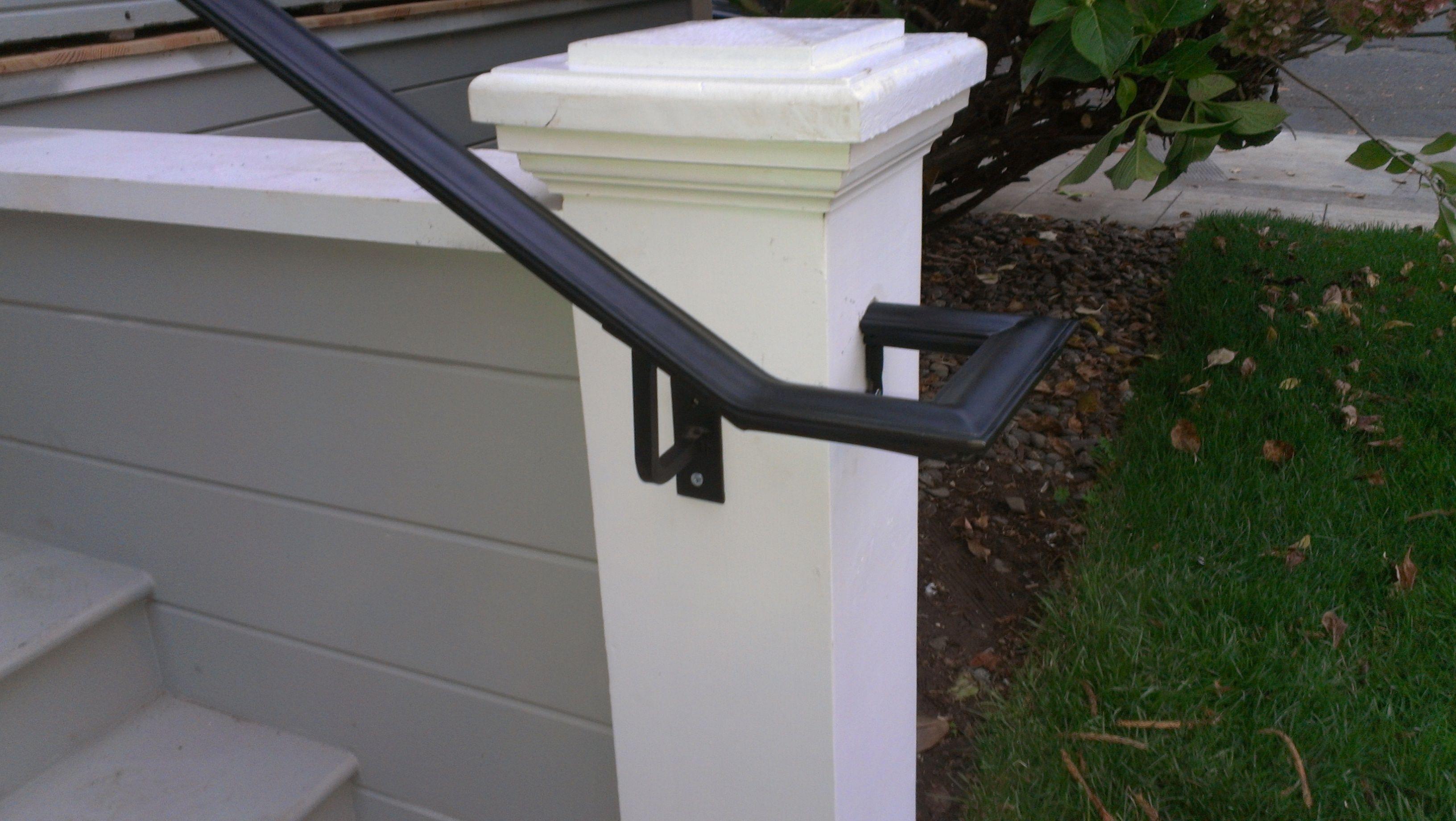 custom railing for a historic home in Napa