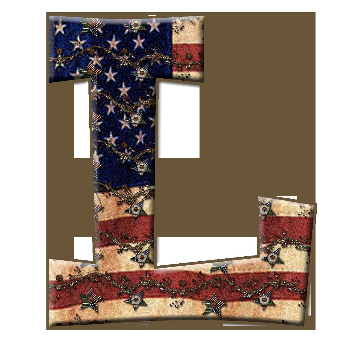 Pin by Peggy Heaton on Alphabet~Patriotic~   Capital ...