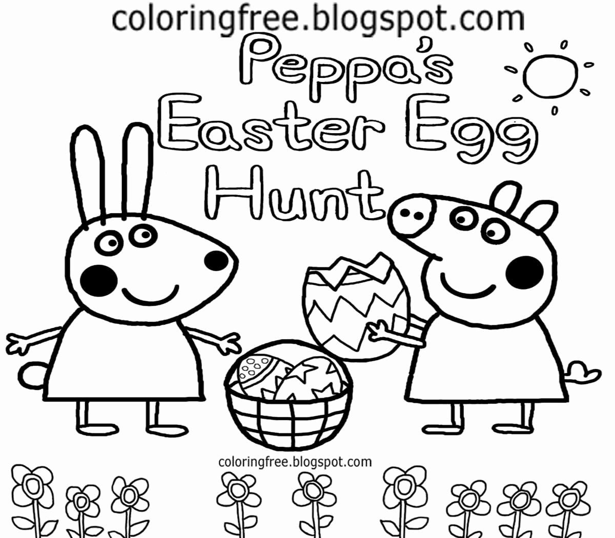 Coloring Cartoons Peppa Pig Fresh Free Coloring Pages
