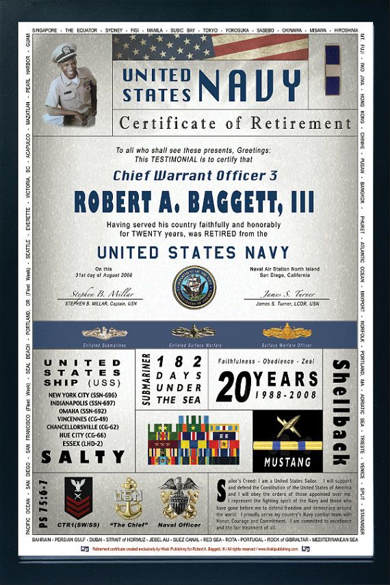 Certificates measure 12x18 vertical and are suitable for matting - retirement programs