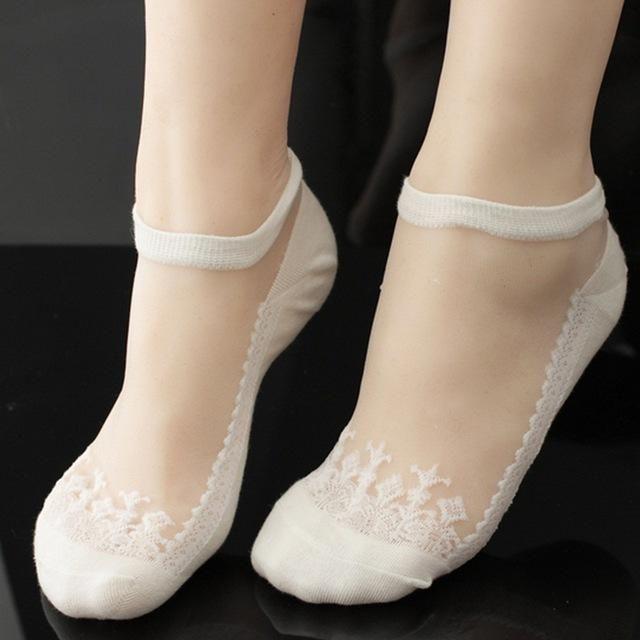 dd3c67c91 Discover ideas about Women's Socks. Tenworld 10 Pairs Women Short Socks  Summer Thin Transparent Silk Stockings ...