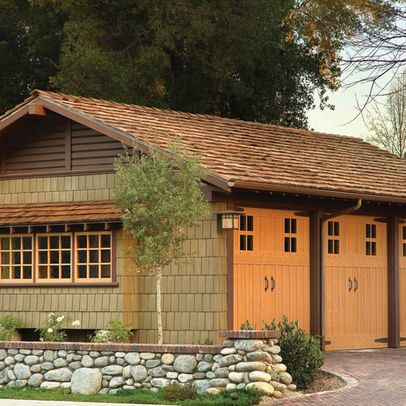 Arts And Crafts Design Ideas Pictures Remodel And Decor Page 6 Craftsman Style Garage Doors Craftsman Style Homes Craftsman Exterior