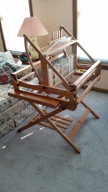 Ashford table loom with floor stand | my looms | Loom