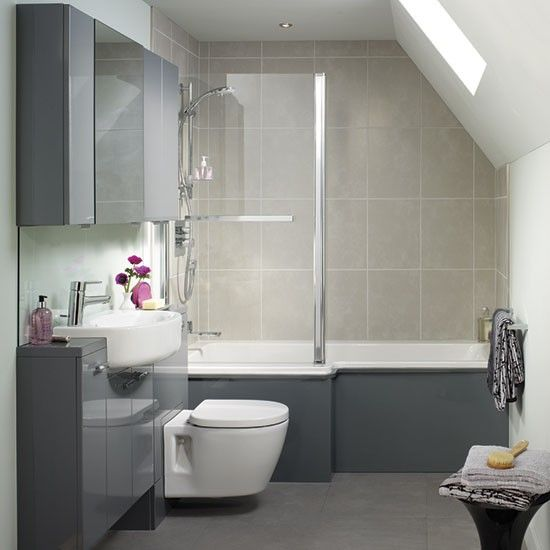 Shower Baths - 10 Brilliant Buys | Bathroom layout, Small ... on Small Bathroom Ideas Uk id=13534