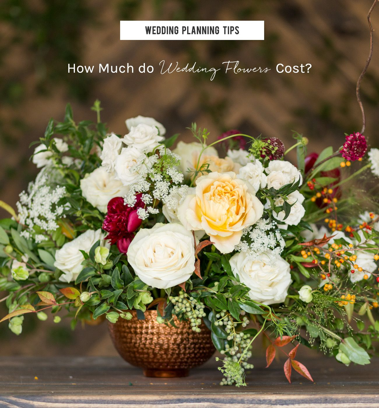 Wedding Planning Tips Budgeting for Centerpieces Flower
