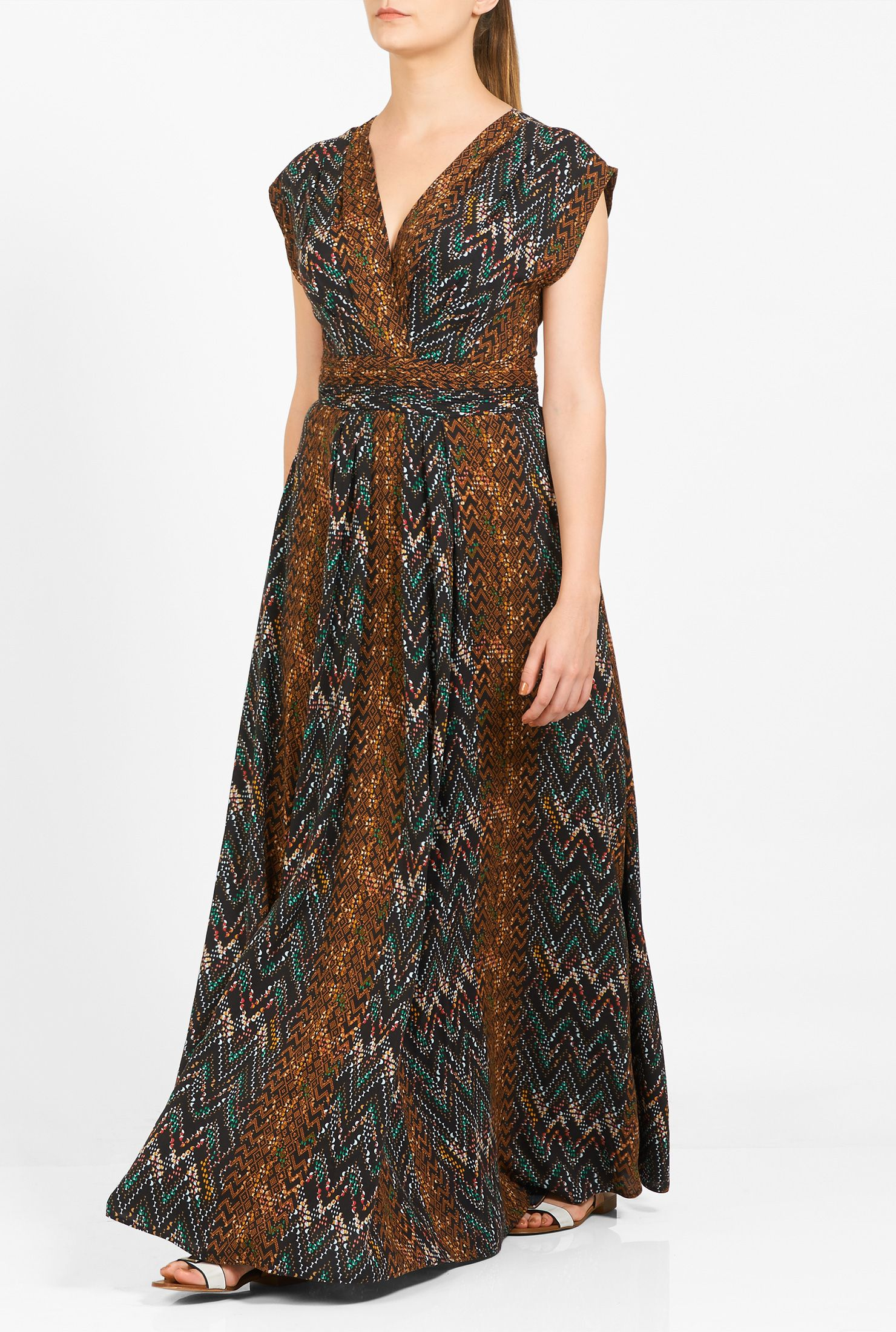 Graphic print surplice maxi dress graphic prints maxi dresses and