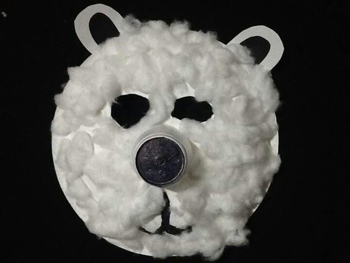 Polar bear paper plate & Polar bear paper plate | school stuff | Pinterest | Polar bears ...