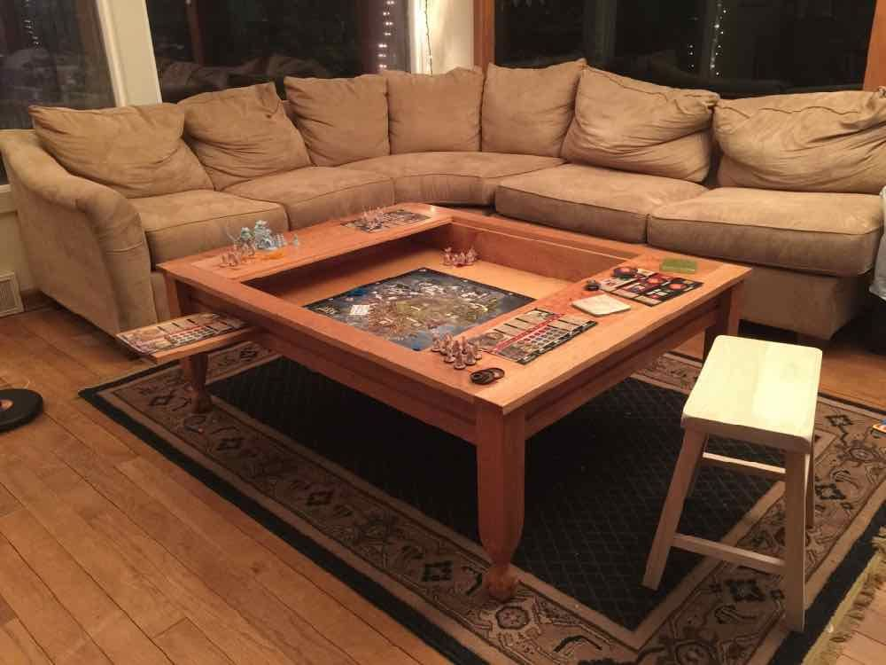 20 Diy Game Table Ideas Love Games Coffee Table For Board
