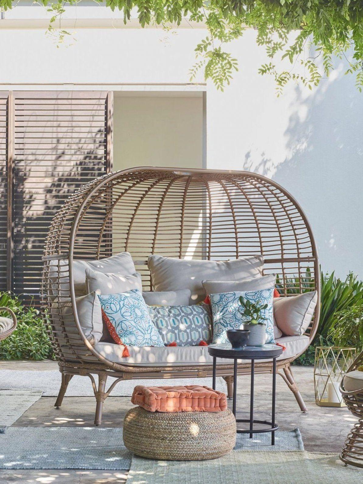 John Lewis Partners Jute Pouffe in 2020 Garden sofa