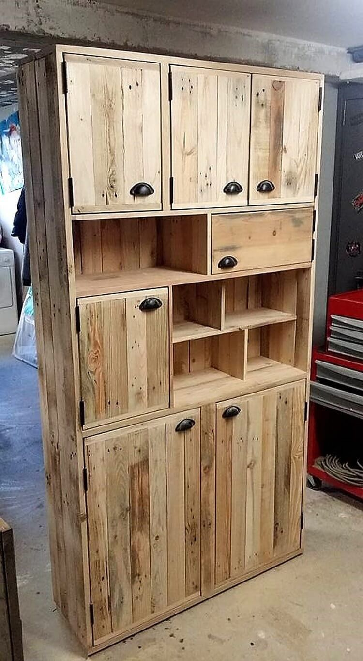 Pallet Cupboard Moveis Paletes Moveis Feito Com Paletes