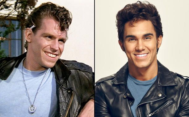 Grease: Then and Now | Kenickie grease, Grease live and ...