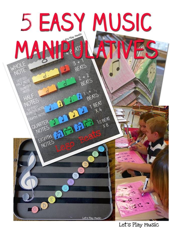 Over The Last Few Weeks I Ve Been Looking At All Sorts Of Different And Easy Music Manipulatives For Introducin Music Manipulatives Learn Music Lets Play Music