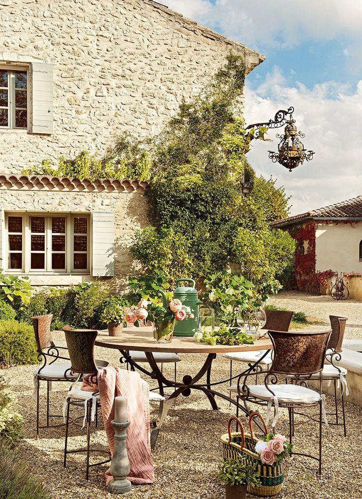 Una vieja casa de huéspedes en la Provenza · ElMueble.com · Casas: