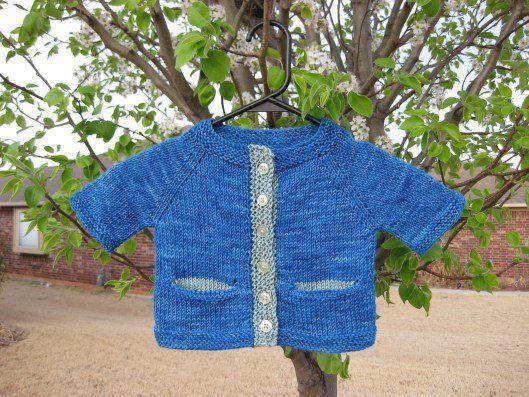 Freeknittingpattern Babysweatersbuntingbabysweater