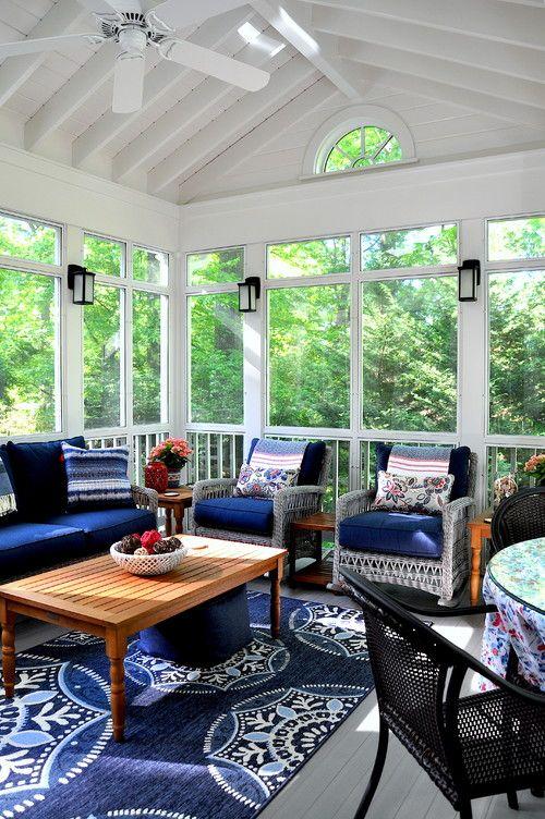 Four Seasons Room Seasonal Room Three Season Room: Three Season Room, Screened Porch Decorating, House With Porch