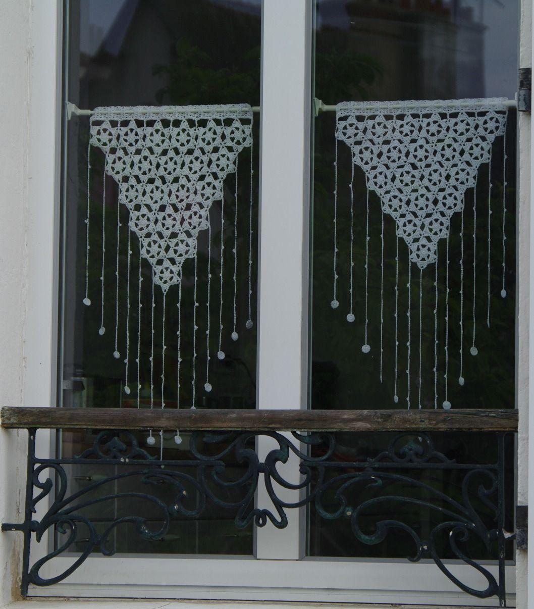 Crochet Patron Francais Rideaux Dentelle Habillage