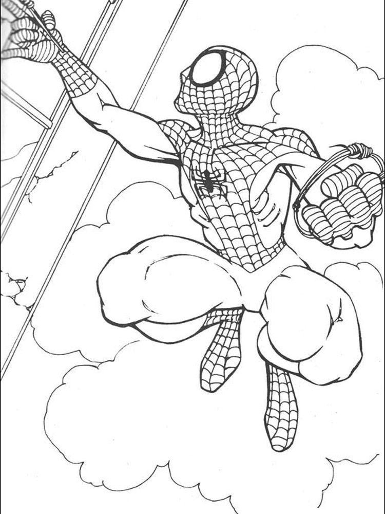 Baby Spiderman Coloring Pages Following This Is Our Collection Of Spiderman Coloring Page You A Unicorn Coloring Pages Spiderman Coloring Free Coloring Pages