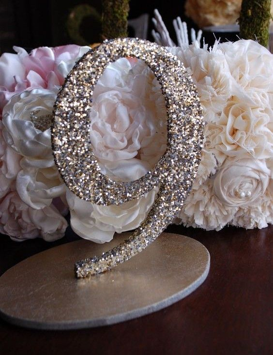 23 chic and subtle glitter wedding ideas