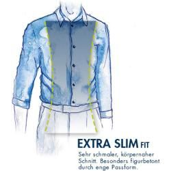 Photo of Button-Down-Shirt Svenn – Easy Iron, StrellsonStrellson mit weißem Muster