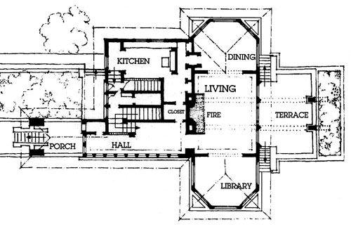 Frank Lloyd Wright Frank Lloyd Wright Robie House Prairie House