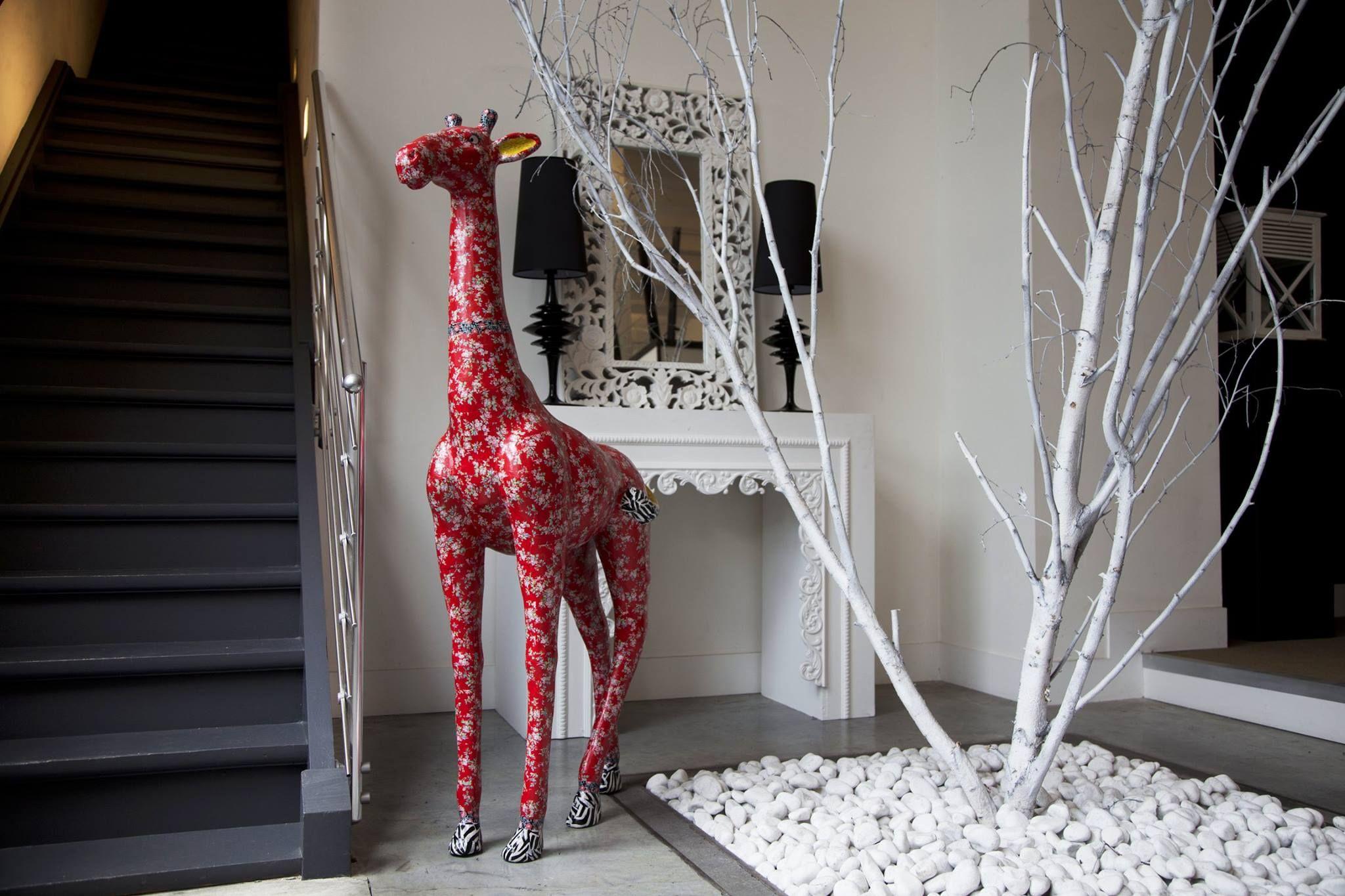 Diese riesige Décopatch-Giraffe ist der Blickfang eines jeden Zimmers!