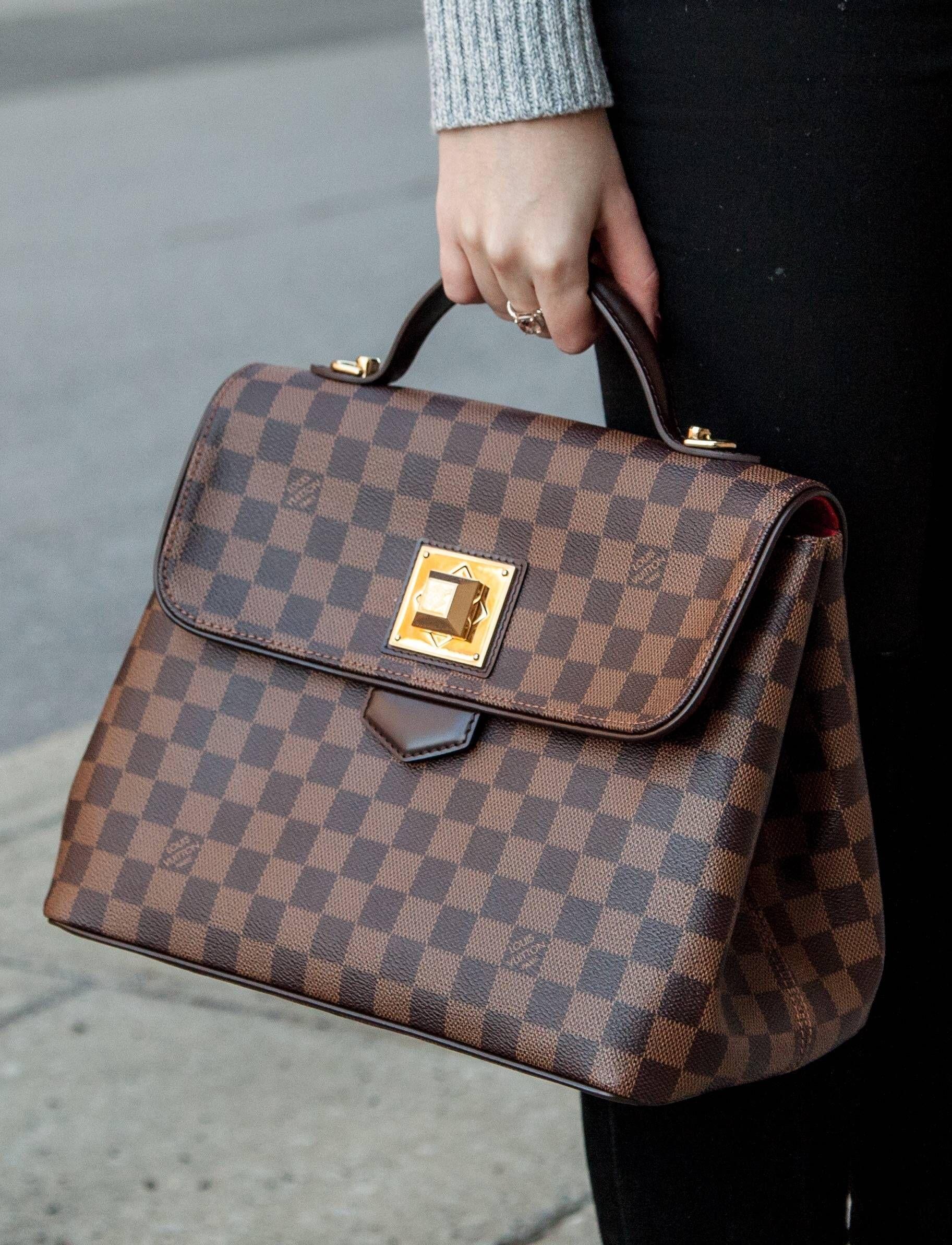 Louis Vuitton Bergamo Bag A Beautiful Pre Owned Designer Handbag