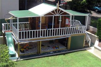 Cubbyhouses, Cubbyhouse Kits, Plans And Designs.