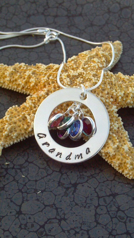 Sterling silver metal hand stamped by DawnsMetalDesigns on Etsy, $40.00