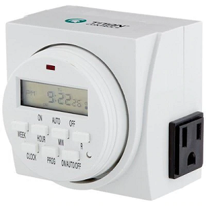Sensilighting Offer Automatic Digital Timer At An Affordable Price Because It S Kept Track Of Timing To Trigger An Action To Start T Digital Timer Timer Lcd