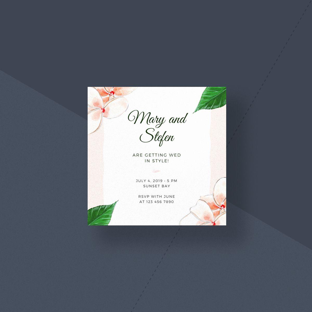 Wedding Invite Card Template Best Of Wedding Invitation Size Guide Canva S Design Wik Wedding Invitation Size Rsvp Wedding Cards Addressing Wedding Invitations