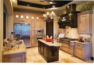 "Sater Design Collection's 6786 ""Ferretti"" Home Plan... - mediterranean - Kitchen - Miami - Sater Design Collection, Inc."