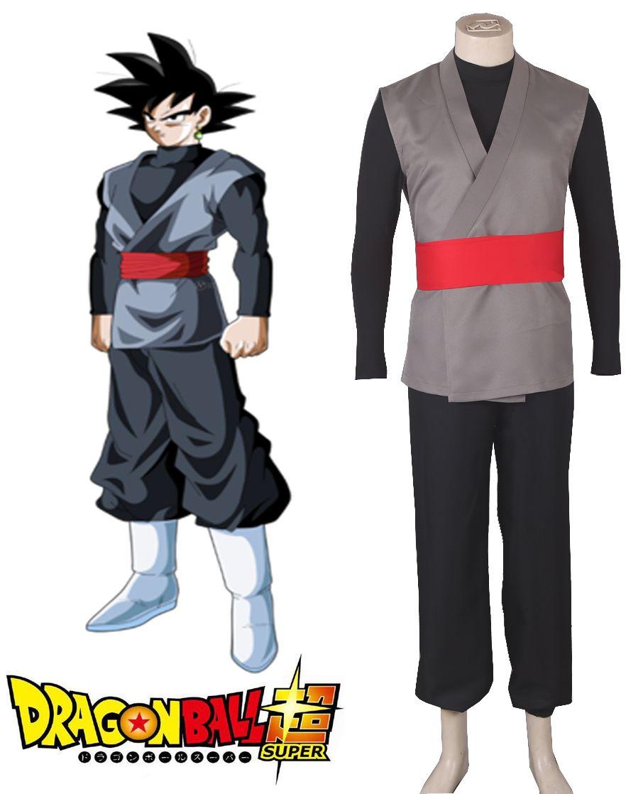 Free Shipping Dragon Ball Super Goku Black Fighting Uniform Anime Cosplay  Costume 7b3736ebc5f7