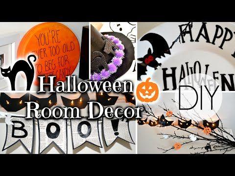 DIY Spooky Halloween Decorations - YouTube Halloween Party 2017 - how to make halloween decorations youtube