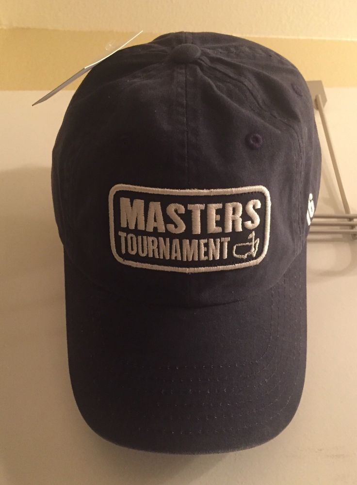 0e9af687ea9 ☀NEW☀Masters Tournament  16 2016 Adjustable Cap Hat Cotton NWT American  Needle