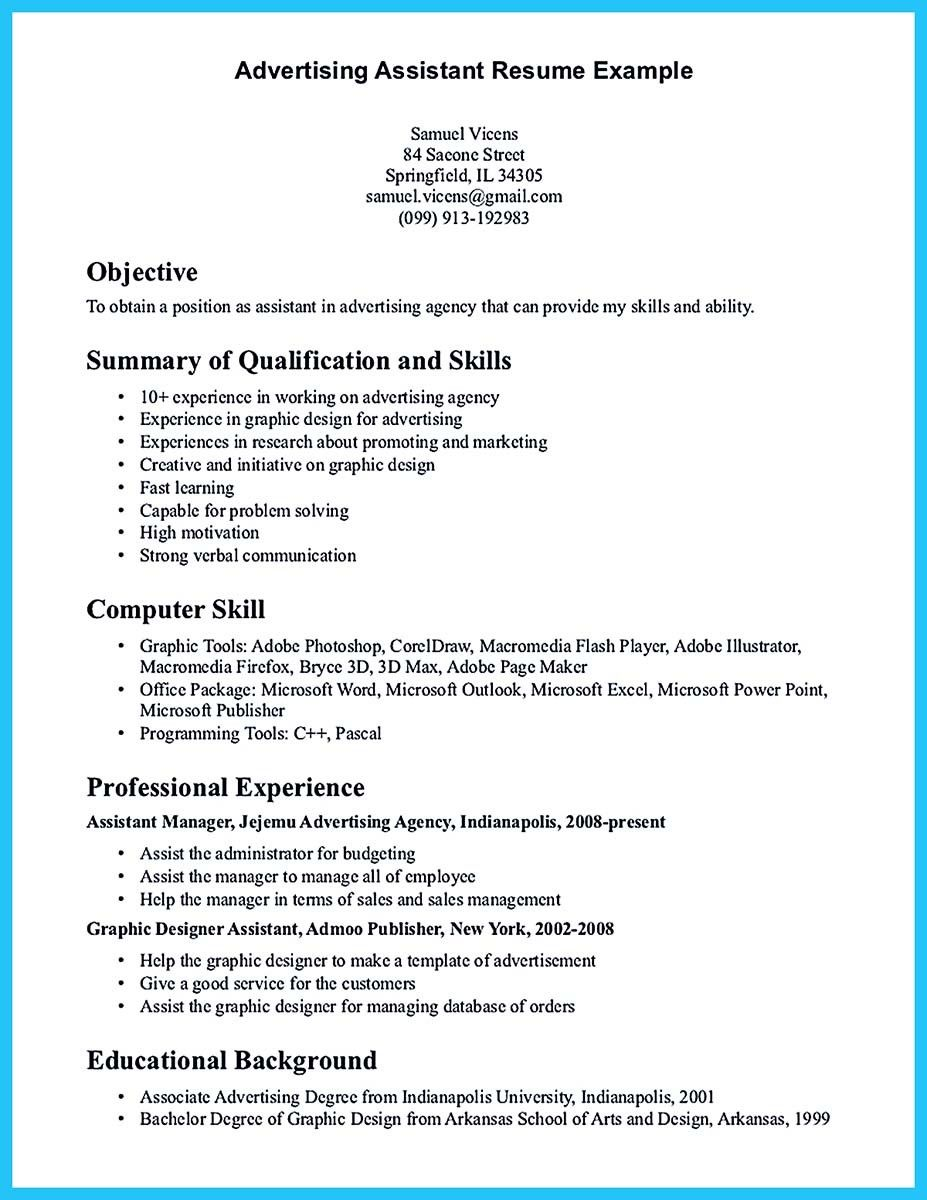 A Good Resume Objective Cool Writing Your Assistant Resume Carefully Check More At Http