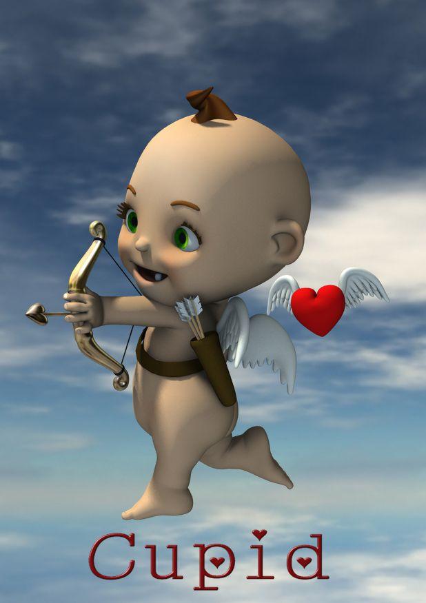 Cupid for 3D Universe's Toon Baby rendered in 3Delight in DAZ Studio 4.9