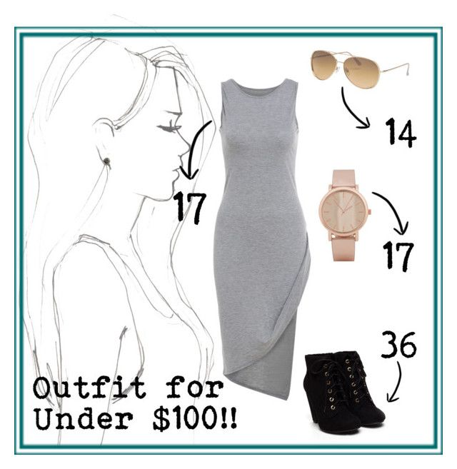 """""""Outfit for under $100"""" by jessica-skye-1 on Polyvore featuring Monique Péan, maurices and ALDO"""