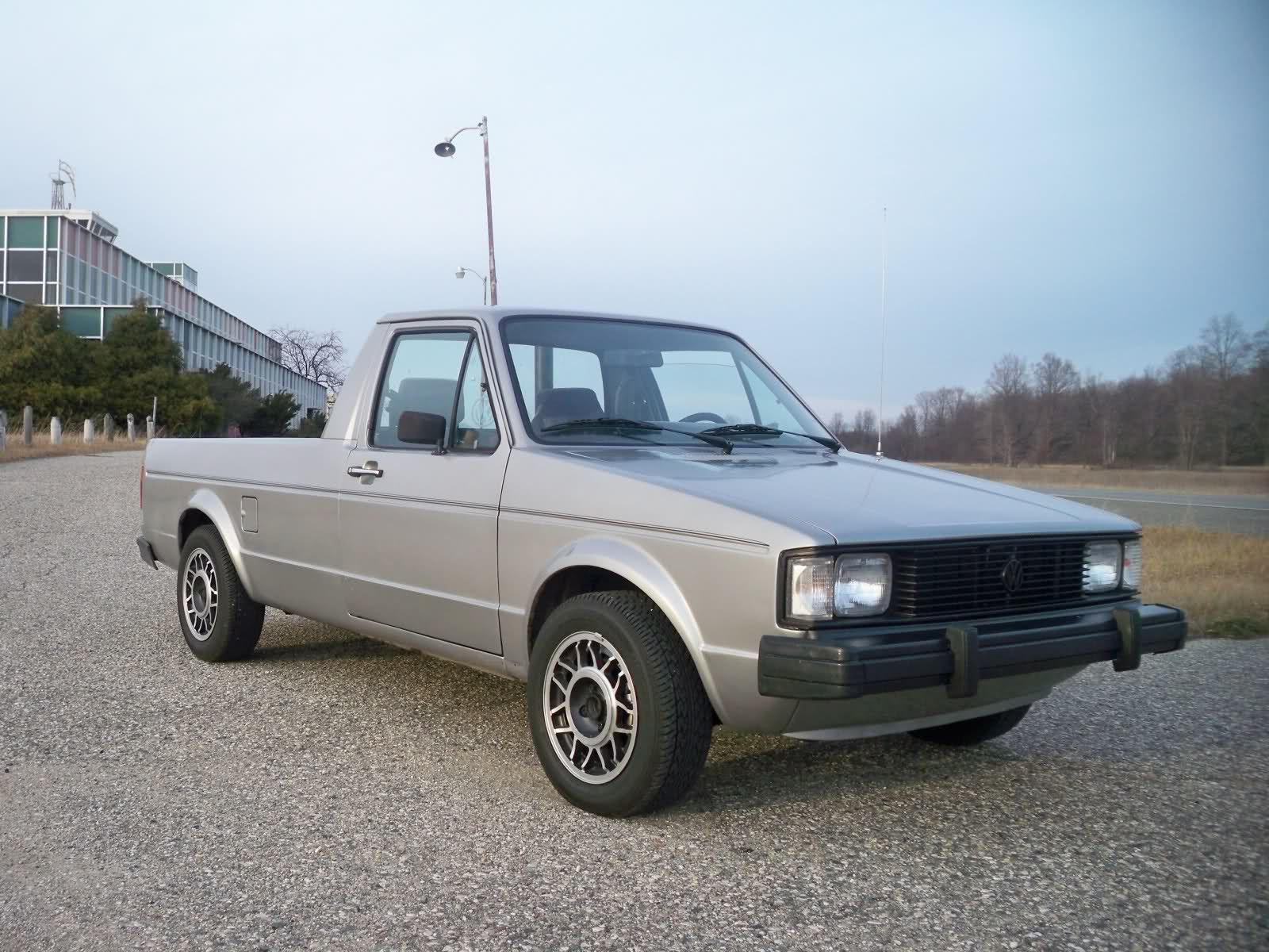 1981 vw rabbit diesel pickup truck this thing got about 50. Black Bedroom Furniture Sets. Home Design Ideas