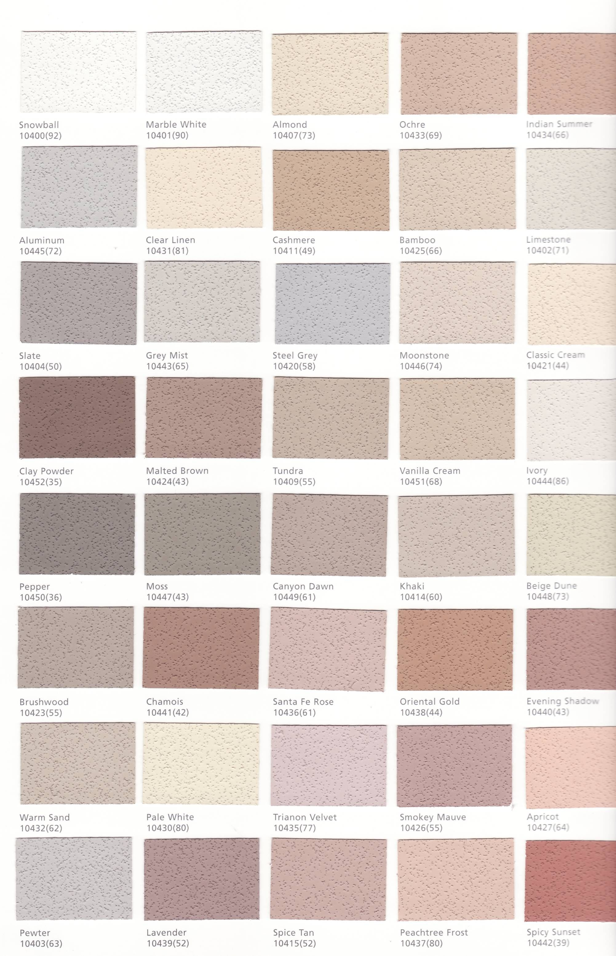 different stucco colors for the exterior of your house