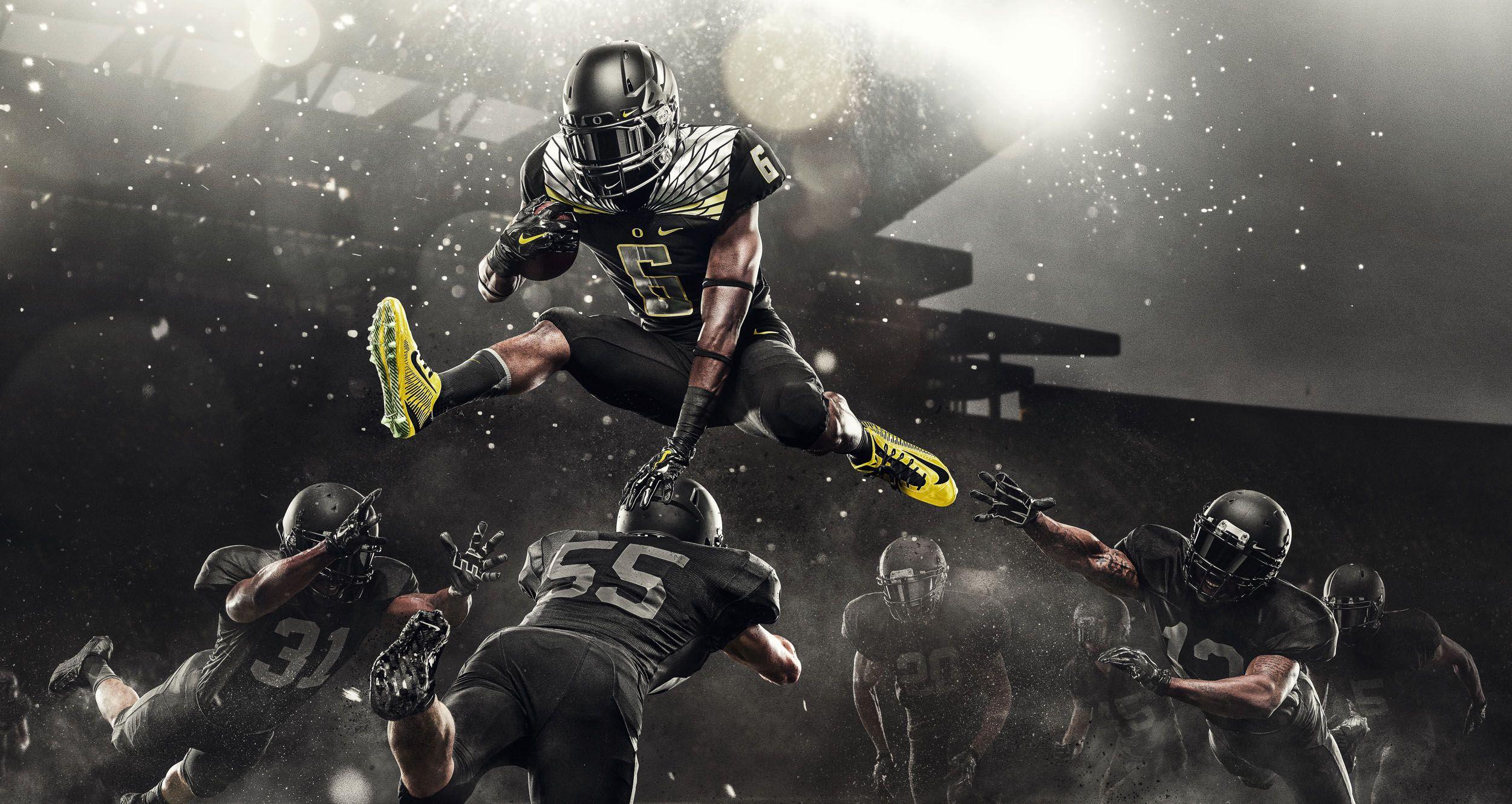 Nike Ncaa Ohio Oregon Ads Sport Photography Football Photography Action Sports Photography