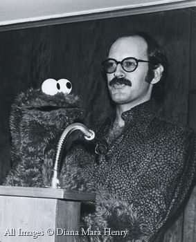 Frank Oz With Cookie Monster Muppets Frank Oz Monster Cookies