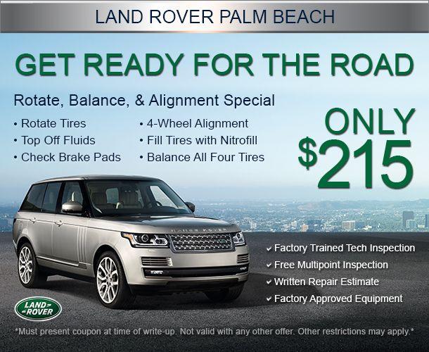 Range Rover Land Rover West Palm Beach Fl Auto Repair Specials Oil Change Tire Rotation Land Rover Palm Beach Land Rover Service