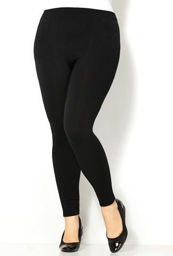 6bb0d4e5fa82e6 CABLE FLEECE LINED LEGGING, Black | fashion# | Plus size leggings ...